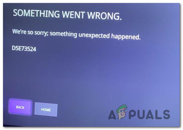 Как исправить ошибку Twitch D5E73524