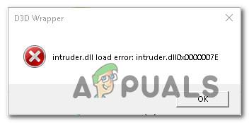 Как исправить ошибку загрузки Intruder.dll