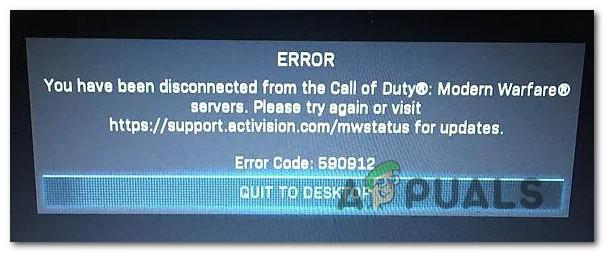 [FIX] COD Modern Warfare 'Код ошибки: 590912'