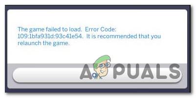 Как исправить код ошибки 109 в Sims 4