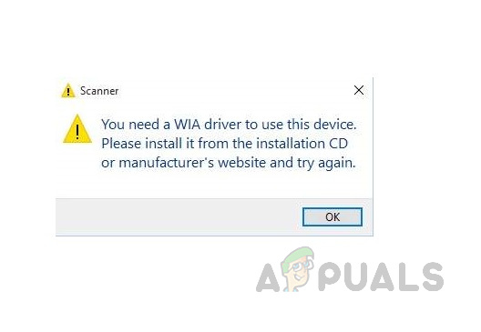 [FIX] Вам нужен сканер драйверов WIA