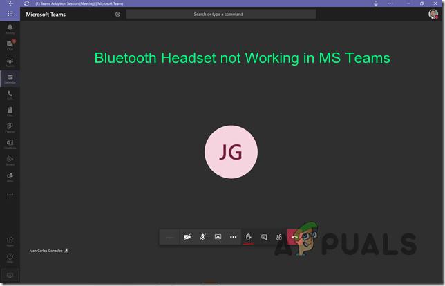 Как исправить Bluetooth-гарнитуру, не работающую с Microsoft Teams в Windows 10?
