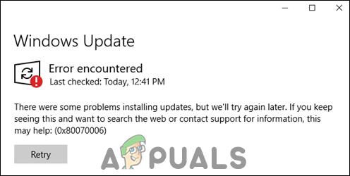 Как исправить отсутствие службы обновления Windows