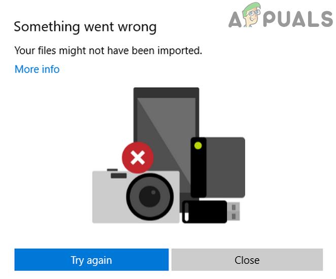 Исправлено: ошибка импорта фотографий iPhone «Что-то пошло не так»