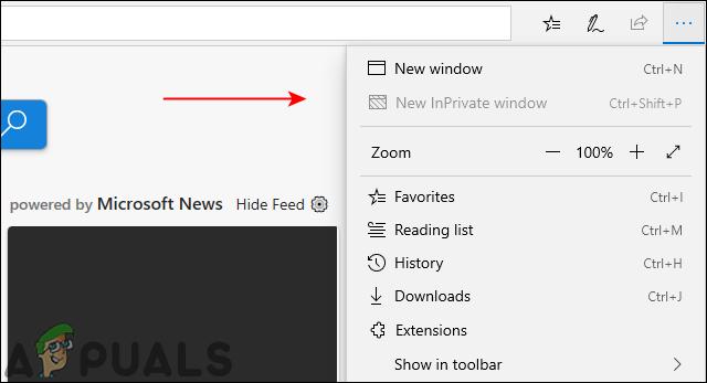 Как отключить просмотр InPrivate в Microsoft Edge?