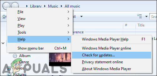Как включить или отключить автоматическое обновление для проигрывателя Windows Media?