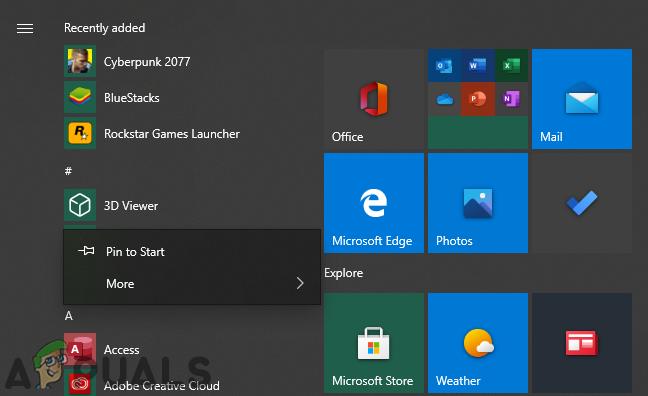 Как запретить пользователям удалять приложения из меню «Пуск» в Windows 10?