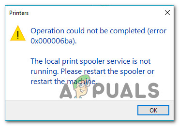 Как исправить ошибку 0x000006BA в Windows 10