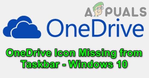 Исправлено: значок OneDrive отсутствует на панели задач в Windows 10