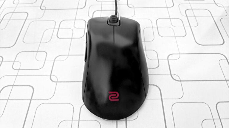 Обзор эргономичной игровой мыши BenQ Zowie EC1-B