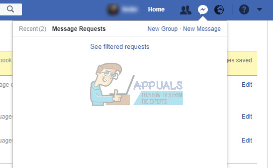Как найти скрытые и отфильтрованные запросы сообщений на Facebook?