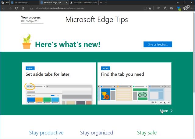 Как отключить первый запуск в Microsoft Edge Chromium?