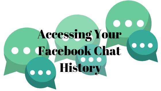 Как заглянуть в старые разговоры в чате Facebook