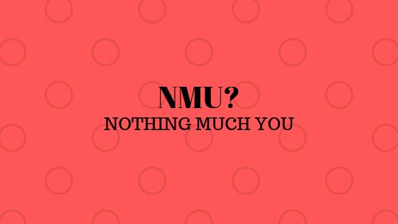 Что означает NMU?