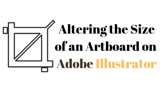Как изменить размер монтажной области в Illustrator