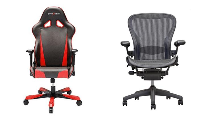 Игровые стулья против офисных стульев