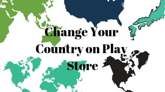 Как перейти в другую страну в Play Store