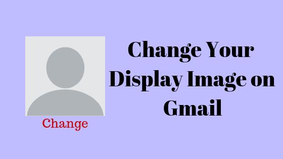Как изменить отображаемое изображение в Gmail