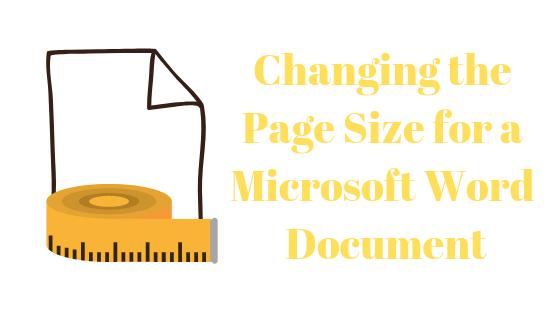 Как изменить размер документа в Microsoft Word