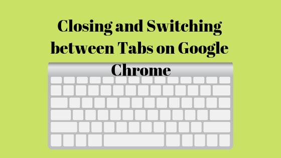 Как переключаться между вкладками в Google Chrome