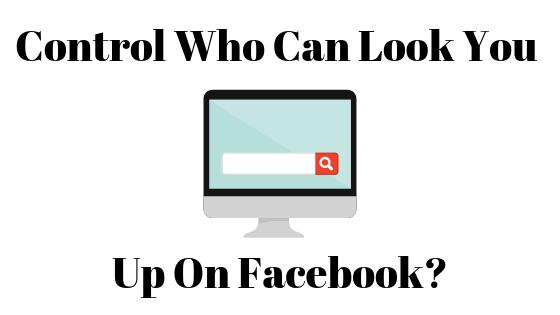 Как не дать людям найти вас на Facebook