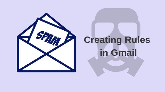 Как создавать правила в Gmail