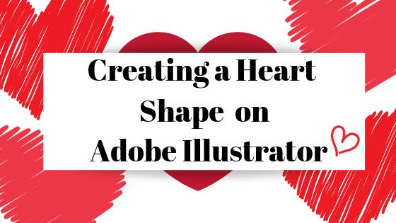 Как сделать форму сердца в Adobe Illustrator