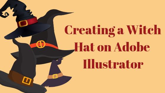 Как нарисовать шляпу ведьмы в Adobe Illustrator?