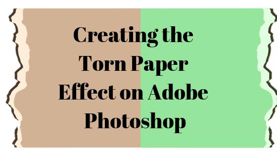 Как создать оторванный лист бумаги в Adobe Photoshop
