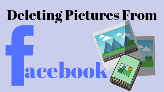 Как удалить изображения, которые вы загрузили на Facebook