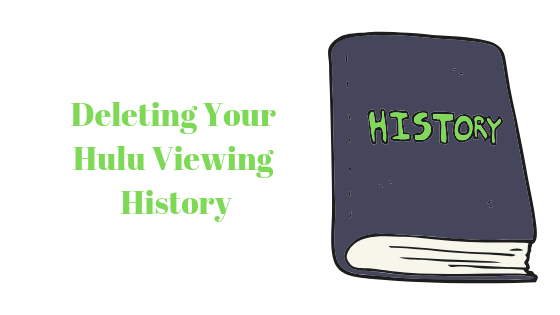 Как удалить историю просмотров на Hulu