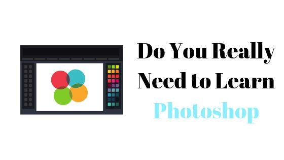 Можете ли вы научиться графическому дизайну, не изучая Photoshop?