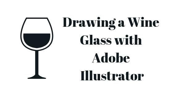 Как нарисовать бокал для вина в Adobe Illustrator