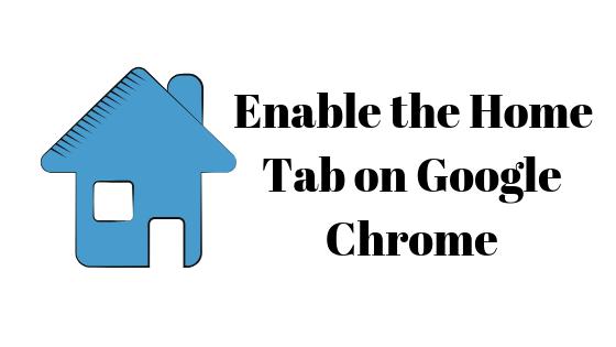 Как включить главную вкладку в Google Chrome