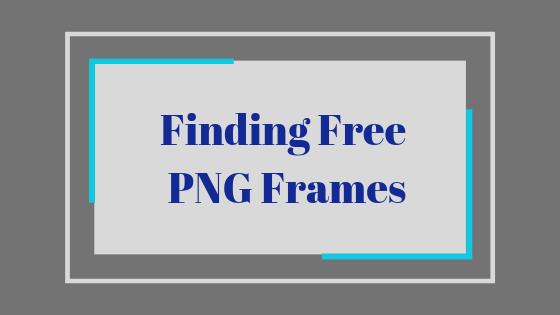 Как скачать рамки PNG