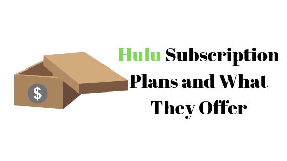 Какие планы предлагает Hulu