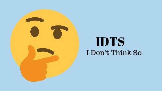 Что означает IDTS