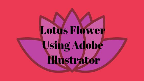 """Как сделать цветок лотоса с помощью инструмента """"Эллипсы"""" в Adobe Illustrator"""