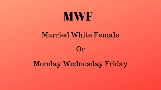 Что означает MWF