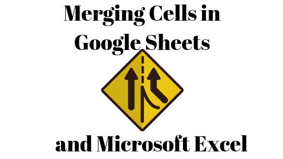 Как центрировать текст и объединить ячейки в Google Таблицах и Microsoft Excel