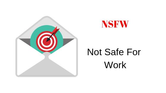 Что означает NSFW?  — Appuals.com