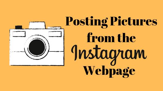 Как загружать изображения в Instagram для Edge или Chrome