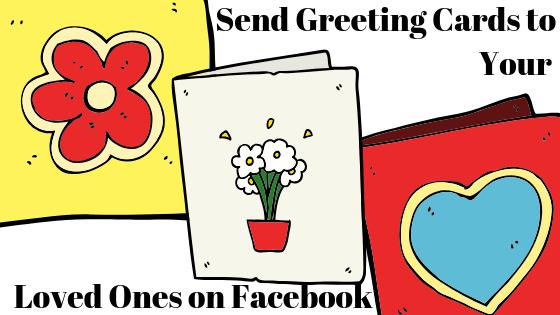 Как поделиться поздравительной открыткой с помощью учетной записи Facebook