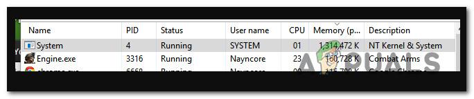 """Как исправить """" системный """" процесс, занимающий огромное количество оперативной памяти в Windows 10"""