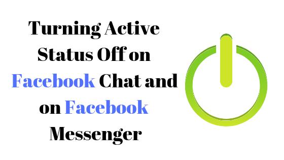 Как отключить активный статус в Facebook Messenger и чате