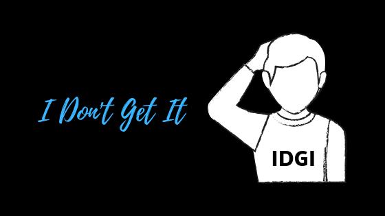Что означает IDGI?  – Appuals.com