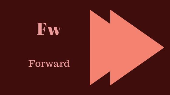 Что означает FW?
