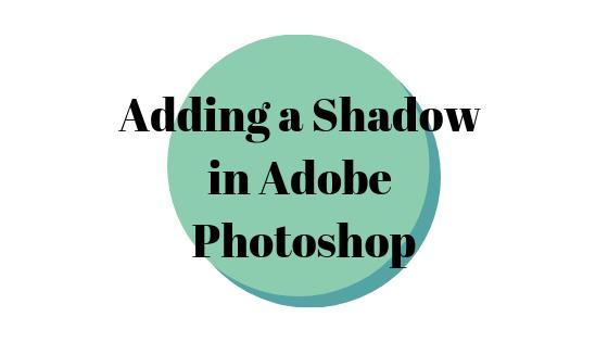 Как создать тень в Adobe Photoshop