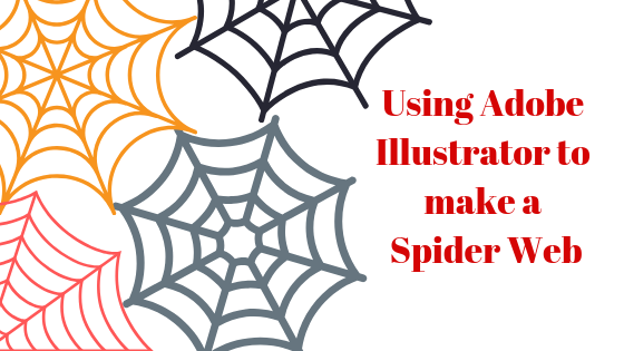Как создать паутину в Adobe Illustrator