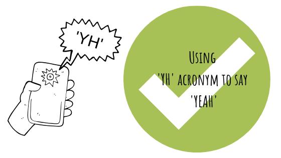 Что означает аббревиатура «YH»?